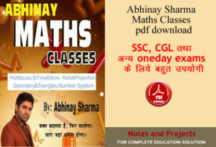 Abhinay-Sharma-Maths-Notes-PDF