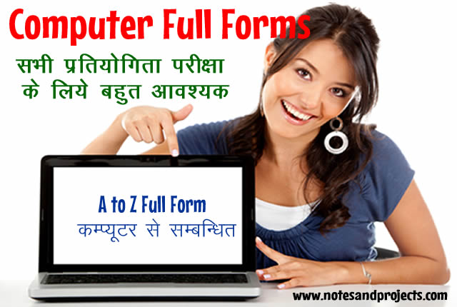 Full Form of Computer Related Short Form