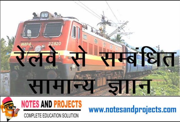Indian Railway General Knowledge