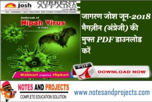 Jagran Josh Current Affairs In English PDF Free Download