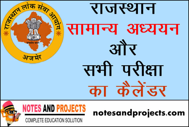 Rajesthan General Knowledge In Hindi PDF Free Download