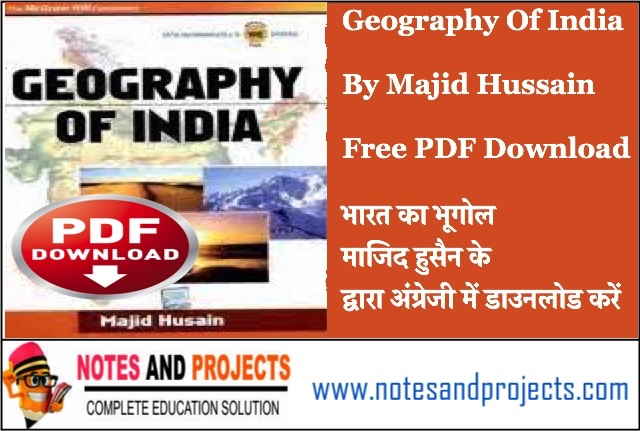 Majid Hussain Geography PDF Download