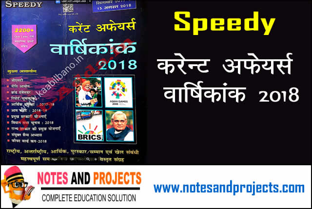 Speedy Yearly Current Affairs Pdf Download In Hindi For Free