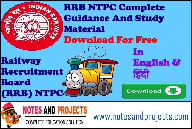 RRB NTPC Download Complete Study Material
